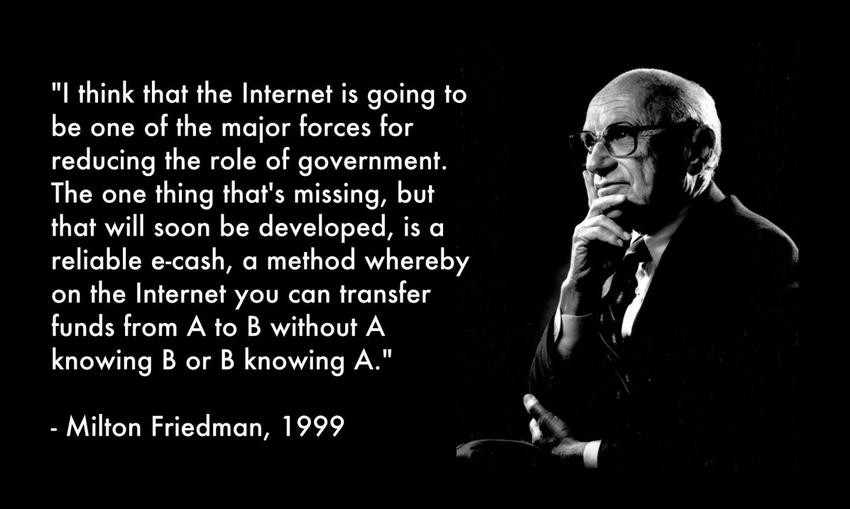 Friedman about the Internet